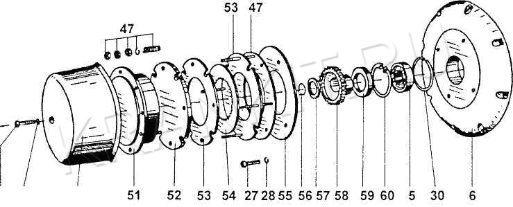 Двухступечатый планетарный редуктор