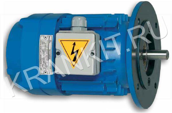 Электродвигатели перемещения крановых опорных тележек АК