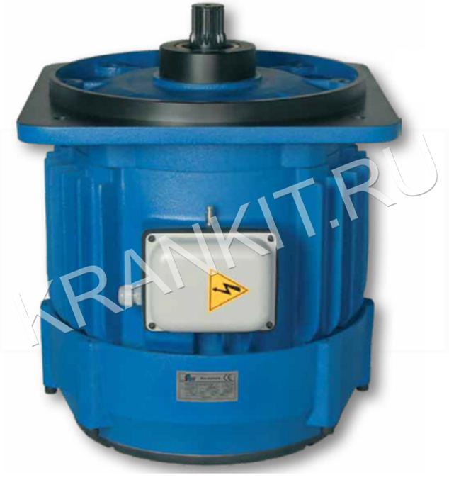 Электродвигатели K для механизма подъема канатных электротельферов серия М